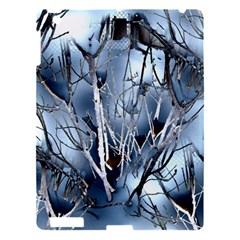 Abstract Of Frozen Bush Apple Ipad 3/4 Hardshell Case