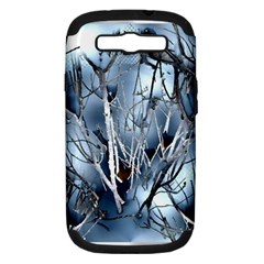 Abstract Of Frozen Bush Samsung Galaxy S Iii Hardshell Case (pc+silicone) by canvasngiftshop