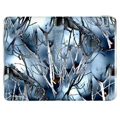 Abstract Of Frozen Bush Samsung Galaxy Tab 7  P1000 Flip Case