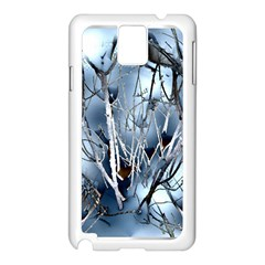 Abstract Of Frozen Bush Samsung Galaxy Note 3 N9005 Case (white) by canvasngiftshop