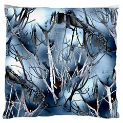 Abstract Of Frozen Bush Standard Flano Cushion Case (one Side)