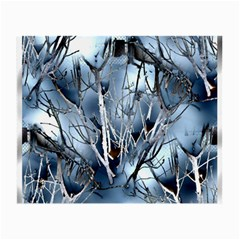 Abstract Of Frozen Bush Glasses Cloth (small, Two Sided) by canvasngiftshop