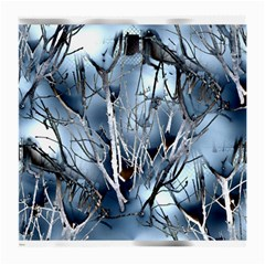 Abstract Of Frozen Bush Glasses Cloth (medium)