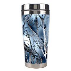 Abstract Of Frozen Bush Stainless Steel Travel Tumbler by canvasngiftshop