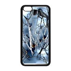 Abstract Of Frozen Bush Apple Iphone 5c Seamless Case (black) by canvasngiftshop