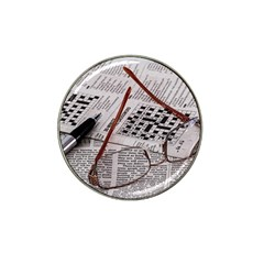 Crossword Genius Golf Ball Marker 10 Pack (for Hat Clip) by StuffOrSomething