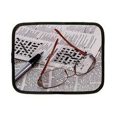 Crossword Genius Netbook Sleeve (small) by StuffOrSomething