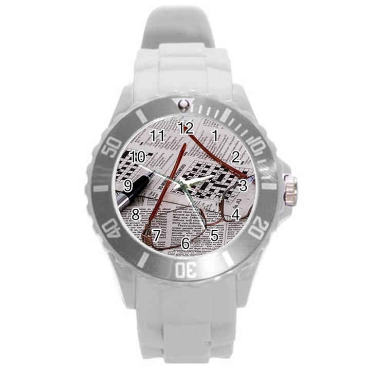 Crossword Genius Plastic Sport Watch (Large)