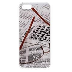 Crossword Genius Apple Iphone 5 Seamless Case (white) by StuffOrSomething