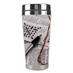 Crossword Genius Stainless Steel Travel Tumbler by StuffOrSomething