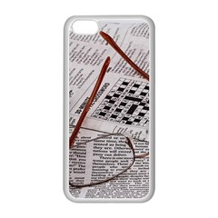 Crossword Genius Apple Iphone 5c Seamless Case (white) by StuffOrSomething