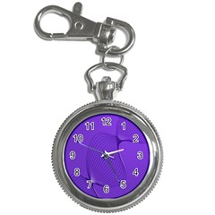 Twisted Purple Pain Signals Key Chain Watch by FunWithFibro