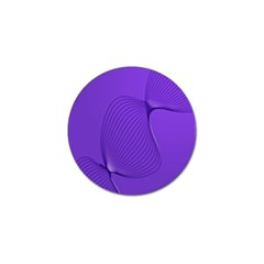 Twisted Purple Pain Signals Golf Ball Marker by FunWithFibro