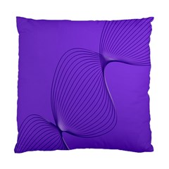 Twisted Purple Pain Signals Cushion Case (two Sided)  by FunWithFibro