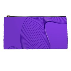 Twisted Purple Pain Signals Pencil Case by FunWithFibro