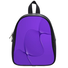 Twisted Purple Pain Signals School Bag (small) by FunWithFibro