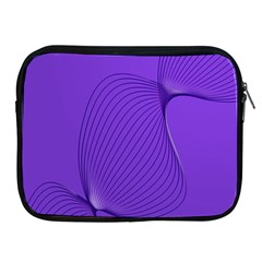 Twisted Purple Pain Signals Apple Ipad Zippered Sleeve by FunWithFibro