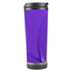 Twisted Purple Pain Signals Travel Tumbler by FunWithFibro