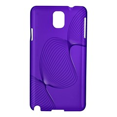 Twisted Purple Pain Signals Samsung Galaxy Note 3 N9005 Hardshell Case by FunWithFibro