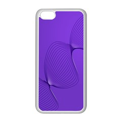 Twisted Purple Pain Signals Apple Iphone 5c Seamless Case (white) by FunWithFibro