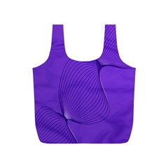 Twisted Purple Pain Signals Reusable Bag (s) by FunWithFibro