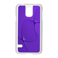 Twisted Purple Pain Signals Samsung Galaxy S5 Case (white) by FunWithFibro