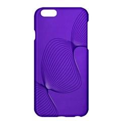 Twisted Purple Pain Signals Apple Iphone 6 Plus Hardshell Case by FunWithFibro