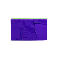 Twisted Purple Pain Signals Cosmetic Bag (xs)