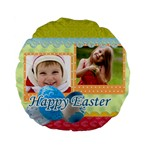 Easter - Standard 15  Premium Flano Round Cushion