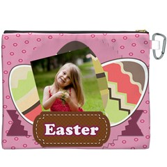 Easter By Easter   Canvas Cosmetic Bag (xxxl)   395dd7b4wfzg   Www Artscow Com Back