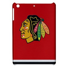 Chicago Blackhawks Jersey Textured Device Case Apple Ipad Mini Hardshell Case by blueshirtdesigns