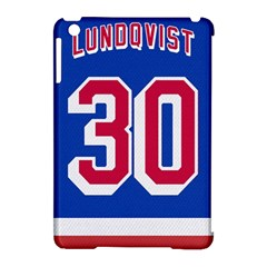 Henrik Lundqvist Jersey Style Device Case Apple Ipad Mini Hardshell Case (compatible With Smart Cover) by blueshirtdesigns