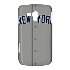 New York Yankees Jersey Case Samsung Galaxy Duos I8262 Hardshell Case  by blueshirtdesigns