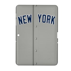 New York Yankees Jersey Case Samsung Galaxy Tab 2 (10 1 ) P5100 Hardshell Case  by blueshirtdesigns