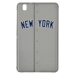 New York Yankees Jersey Case Samsung Galaxy Tab Pro 8 4 Hardshell Case by blueshirtdesigns