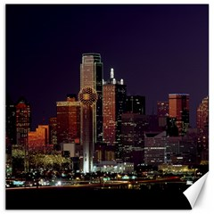 Dallas Skyline At Night Canvas 16  X 16  (unframed) by StuffOrSomething