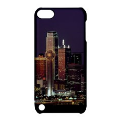 Dallas Skyline At Night Apple Ipod Touch 5 Hardshell Case With Stand by StuffOrSomething