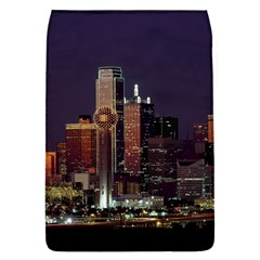 Dallas Skyline At Night Removable Flap Cover (large) by StuffOrSomething