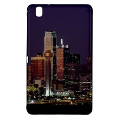 Dallas Skyline At Night Samsung Galaxy Tab Pro 8 4 Hardshell Case by StuffOrSomething