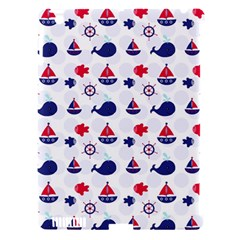 Nautical Sea Pattern Apple Ipad 3/4 Hardshell Case (compatible With Smart Cover) by StuffOrSomething