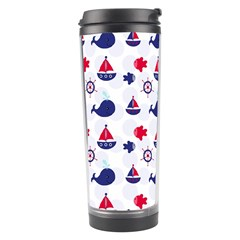 Nautical Sea Pattern Travel Tumbler