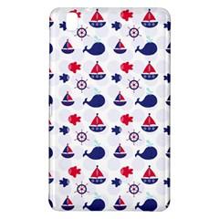 Nautical Sea Pattern Samsung Galaxy Tab Pro 8 4 Hardshell Case by StuffOrSomething