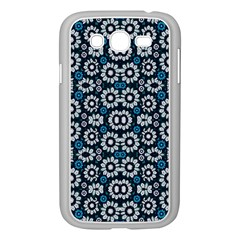Floral Print Seamless Pattern In Cold Tones  Samsung Galaxy Grand Duos I9082 Case (white) by dflcprints
