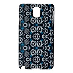 Floral Print Seamless Pattern In Cold Tones  Samsung Galaxy Note 3 N9005 Hardshell Case by dflcprints