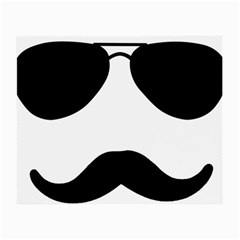 Aviators Tache Glasses Cloth (Small, Two Sided) by YAYA