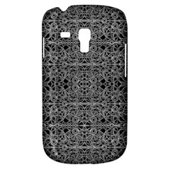Cyberpunk Silver Print Pattern  Samsung Galaxy S3 Mini I8190 Hardshell Case by dflcprints