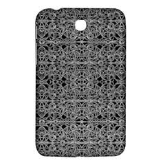 Cyberpunk Silver Print Pattern  Samsung Galaxy Tab 3 (7 ) P3200 Hardshell Case  by dflcprints