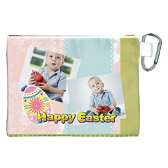 Easter By Easter   Canvas Cosmetic Bag (xxl)   1ogy3atpwo1a   Www Artscow Com Back