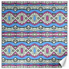 Aztec Style Pattern In Pastel Colors Canvas 20  X 20  (unframed) by dflcprints