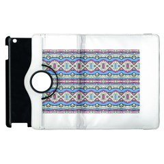 Aztec Style Pattern In Pastel Colors Apple Ipad 2 Flip 360 Case by dflcprints